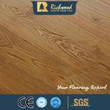 Household 12.3mm HDF AC3 Embossed Waxed Edge Laminate Floor