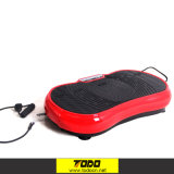 LCD Screen Todo Body Vibration Plate Exercise Machine with Bluetooth