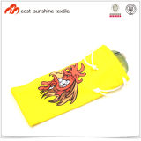 Colorful Microfiber Glasses Pouch with Drawstring