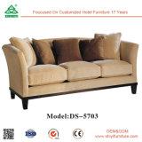 Customized Waterproof Anti-Faded Solid Wood Modular Sofa Set