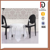 White Acrylic Dining Armless Ghost Chair (BR-RC064)