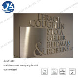 High Quality Metal 304 Stainless Steel Laser Cutting Company Board