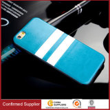 British Style Leather Silicone Phone Case Cover Unbreak Back Cover for iPhone 5 / 5s 6 / 6s