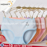 Hot Sale Modal Fashionable Vertical Stripe Printing Young Girls Underwear Ladies Lingerie Panty
