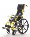 Steel Manual, Kid′s Chair with Mag Rear Wheel, Wheelchair (YJ-013J)