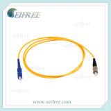 SC/PC-FC/PC Fiber Optic Patch Cord, Sm Simplex Patchcord