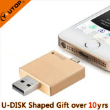 Creative Gold OTG USB Stick for iPhone Gifts (YT-I002)