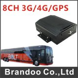Brandoo 8 Channel Mobile DVR Support 3G, GPS, Mainly Used for Bus, Train, Ship