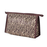 Europe USA The Trend of Zebra Stripes Hand Cosmetic Bag