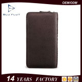 2016 Top Sale Custom Design Fashion Genuine Leather Hand Wallet