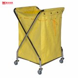 Housekeeping Maid Cart Cleaning Trolley Laundry Trolley