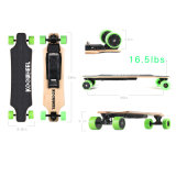 350W 40km/H Four Wheel Electric Longboard Skateboard with UL Certification
