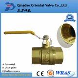 "En331 Approved 1/4""-4"" Female Brass Gas Ball Valve"