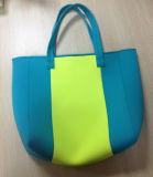 Beautiful Neoprene Shopping Bag of Simplicity