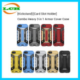 [Kickstand] [Card Slot Holder]Combo Heavy 3 in 1 Armor Cover Case
