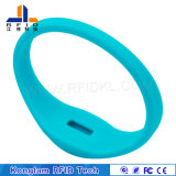 Silk Screen Portable Waterproof RFID Silicone Wristband