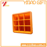 Food Grade 6 Cavities Square Silicone Ice Cube Tray