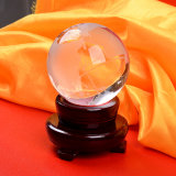Crystal Glass World Ball Earth Globe for Home Decoration