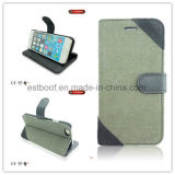 Fabric+PU Phone Case with Phone Stand / iPhone Case