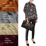 15mm Fashion 100% Real Silk Custom Design Digital Printed Silk Habotai Fabric for Shirt