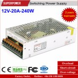 12V 20A 240W Switching Power Supply for Security Monitoring