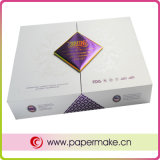 Sparkling Silver Art Paper Packaging Boxes for Cosmetics (YCPB-cb-010)