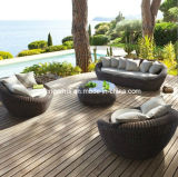 Rattan Sofa Bed, Gorgeous Patio Sofa (DH-9545-1)