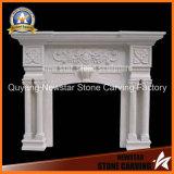 Marble Mantel Stone Fireplace Surround Limestone Fireplace
