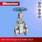 Double Flange Single Wedge Gate Valve with 150/300lb