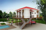 Fast Installation Steel Structure Prefabricated Two Story Villa