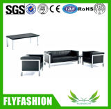 Modern Durable Leather Office Sofa (OF-21)