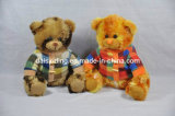 Plush Big Bears with Colorful Printing Soft Material