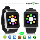 Bluetooth Smart Watch Mobile Phone with 2.0m Camera (S69)