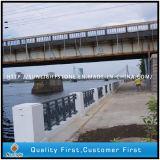 Bushhammered Surface G633 Grey Granite Stone Column for Baluster