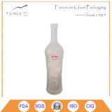 Embossed Glass Bottle/Glass Liqueurs Bottle