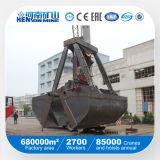 2m3 3m3 6m3 12m3 Wireless Remote Control Clam Bucket