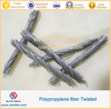 PP Twisted Bundle Fiber 48mm 54mm for Concrete Anti-Cracking