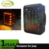 12V Euro Plug LED Reverse Turn Signal Running Brake Rear Light for Jeep Wrangler