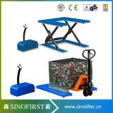 1000kg 1ton Low Profile U Shape Small Scissor Lift Table