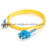 SC -ST Sm Duplex Fiber Optic Patch Cord