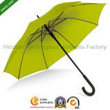 Plain Promotional Stick Umbrellas for Rain (SU-0023B)