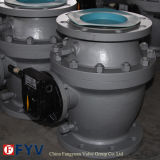 API 6D Cast Steel Flanged Floating Ball Valve