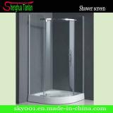 Small Cheap Quadrant Simple Fiberglass Hinge Shower Enclosure (TL-513)