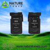 Remanufactured Ink Cartridge for Canon Pg-512, Cl-513