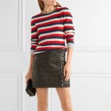 European Style Winter Knitting Pullover Strip Sweater Factory