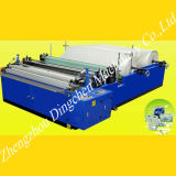 Automatic 1880mm Toilet Tissue Paper Embossing and Perforating Rewinder