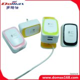 Mobile Phone Gadget 2 USB Micro Fast Adaptive Charger