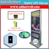 "42""Full HD1080p LCD Display Media Player Digital Signage for Mobile Charging Kiosk"