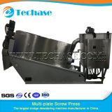 Multi-Plate Screw Press Sewage Treatment Device for Pharmaceuticals Industry Better Than Belt Press