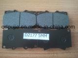 D2177 Semi Metallic Auto Break Pad with 5mm Back Steel (PJCBP013)
